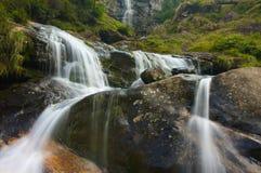 De Cascade van de waterval Stock Afbeelding