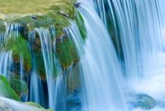 De cascade van het water Stock Foto's