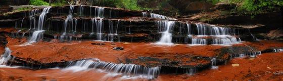 De cascade van het water Stock Fotografie