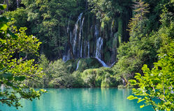 De cascade van Plitvicemeren Royalty-vrije Stock Fotografie