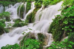 De cascades van het water Stock Fotografie