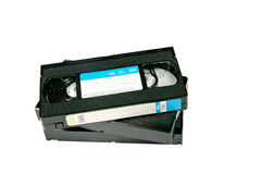 De Cassette van de videoBand Stock Afbeelding