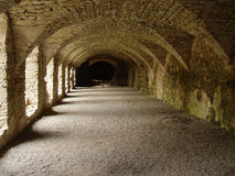 De catacombe Royalty-vrije Stock Afbeeldingen