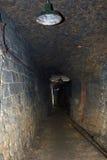 De catacomben van Odessa Royalty-vrije Stock Afbeelding