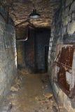 De catacomben van Odessa Stock Fotografie