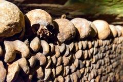 De Catacomben van Parijs Stock Afbeeldingen