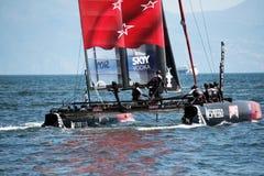 De catamaran van Nieuw Zeeland Stock Foto