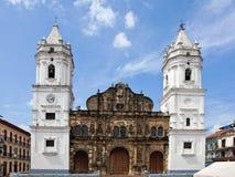 ¡De Catedral BasÃlica Santa Maria la Antigua de Panamà Imágenes de archivo libres de regalías