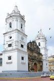 ¡De Catedral BasÃlica Santa Maria la Antigua de Panamà Foto de archivo libre de regalías