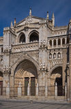 de catedral primada Fasada Mar Santa Toledo Fotografia Stock