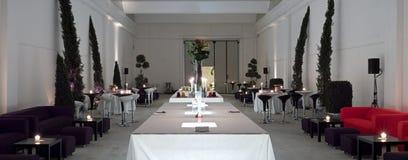 De catering van de luxe binnen Royalty-vrije Stock Afbeeldingen