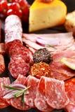 De cateringsschotel van Antipasto royalty-vrije stock foto's