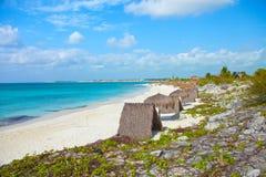 De Cayo playa Cuba largo imagenes de archivo