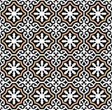 De $ce-andalusisch stijl van het tegelspatroon vector illustratie