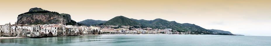¹ de Cefalà em Sicília, Itália Imagens de Stock