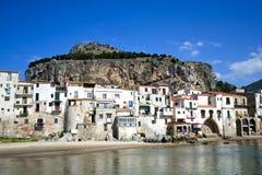 ¹ de CefalÃ, Palermo - Sicilia Imagenes de archivo