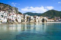 ¹ de CefalÃ, Palermo - Sicilia Fotografía de archivo