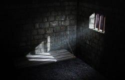De cel van de gevangenis Royalty-vrije Stock Fotografie