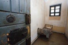De cel van de gevangenis Stock Afbeeldingen
