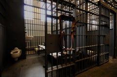 De cel van de gevangenis Royalty-vrije Stock Foto