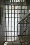 De cel van de gevangenis Stock Fotografie