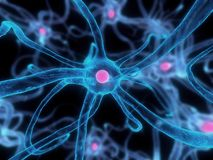 De cel van de zenuw Stock Foto's