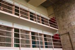 De Cellen van Alcatraz Stock Afbeeldingen
