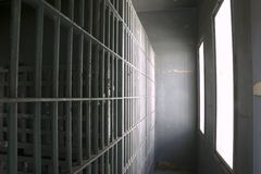 De cellen van de gevangenis Stock Foto