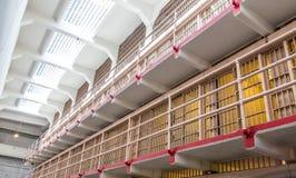De Cellen van de gevangenis bij Eiland Alcatraz Royalty-vrije Stock Foto's