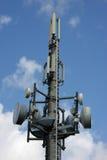 De cellulaire mast van het telefoonnetwerk Stock Fotografie