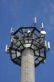 De cellulaire mast van het telefoonnetwerk Royalty-vrije Stock Afbeeldingen