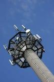 De cellulaire mast van het telefoonnetwerk Royalty-vrije Stock Fotografie