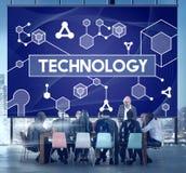 De Celtechnologie Atom Dna Concept van de wetenschapsstam stock afbeelding