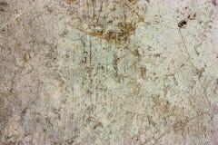 De cementvloeren zijn oud en vuil Royalty-vrije Stock Fotografie