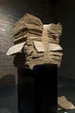 De Ceng Zhushao da escultura concessões 2016 de bolsa de estudos e exposição colocada em lista sucinta dos trabalhos Imagem de Stock