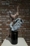 De Ceng Zhushao da escultura concessões 2016 de bolsa de estudos e exposição colocada em lista sucinta dos trabalhos Imagens de Stock Royalty Free