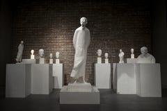 De Ceng Zhushao da escultura concessões 2016 de bolsa de estudos e exposição colocada em lista sucinta dos trabalhos Foto de Stock Royalty Free