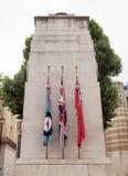 De cenotaaf, Londen stock foto