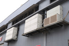 De centrale Apparatuur van de Airconditioning royalty-vrije stock fotografie