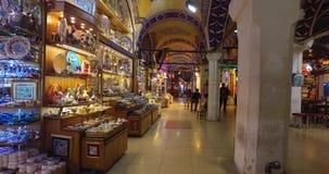 De centrale en grootste stad in de Grote Bazaar, met vele winkels en workshops stock video