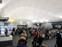 De centrale luchthaven van Londen Stock Afbeelding