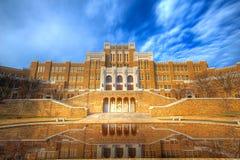 De Centrale Middelbare school van Little Rock stock afbeelding