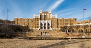 De Centrale Middelbare school van Little Rock Stock Fotografie