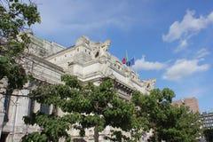 De centrale post van Milaan Royalty-vrije Stock Foto