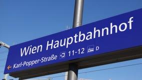 De centrale post van Wenen Stock Afbeelding