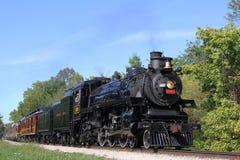 De centrale Spoorweg van Ohio Royalty-vrije Stock Afbeeldingen