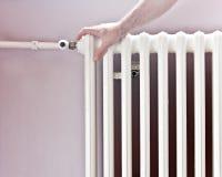 De centrale thermische energie van de radiator Royalty-vrije Stock Fotografie