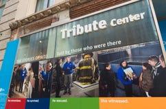 9/11 de centro do tributo Imagens de Stock Royalty Free