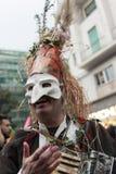 2de centrostorico ` s Carnaval in Napels 2017 Stock Afbeeldingen