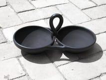 De cerámica negro Foto de archivo libre de regalías